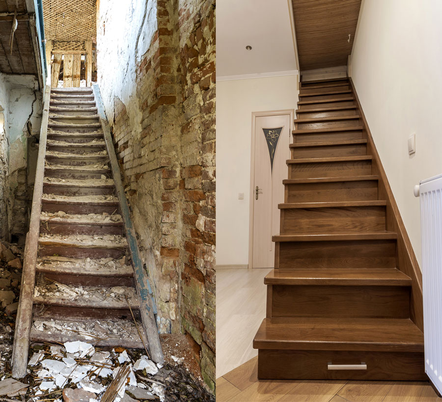 Gordon Greig Custom Stairway